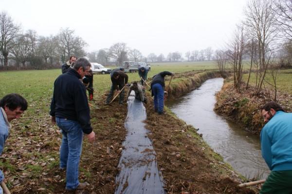 Formation : plantation sur bordure de rivière