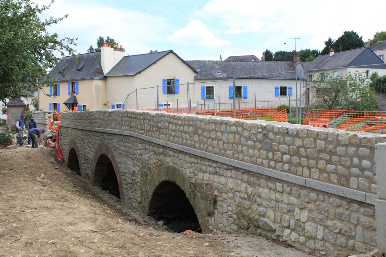 Le pont en Juillet 2013